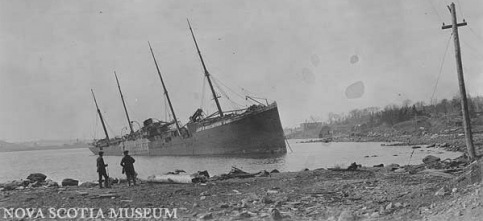 Halifax Explosion - The Great war 1917-1918
